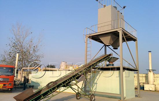 Beston plastic recycling plant for sale